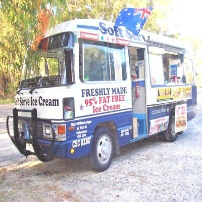 Soft Serve Ice cream Van & Established Business for Sale in Caboolture