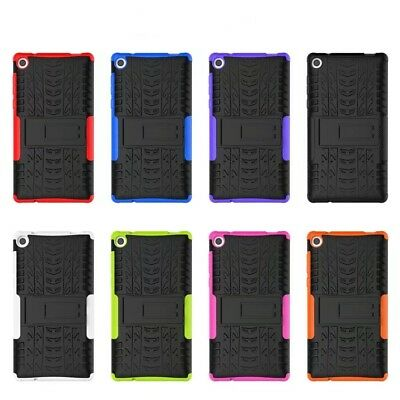 For Lenovo Tab 3 7 TB3-730F/730M/730X Tablet Rugged Hybrid Shockproof Case Cover
