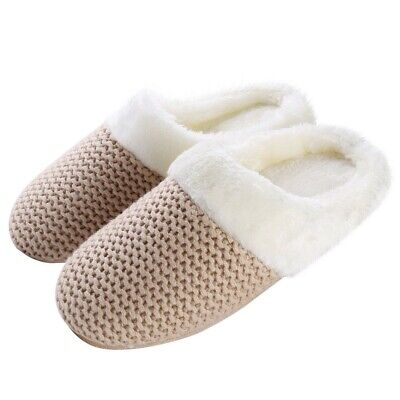 e2dacf29532d New Aerusi Girl Fashion Winter Indoor Shoes House Warm Soft Slipper Size  6-9 Tan