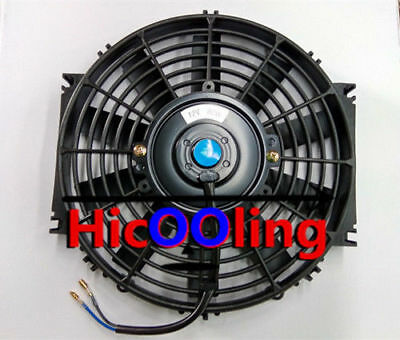 Universal 10 inch 24V volt Electric Cooling Fan Thermo Fan + Mounting kits