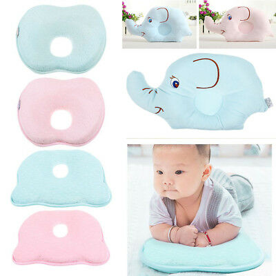 NEW Infant Baby Pillow Prevent Flat Head Memory Foam Cushion Sleeping Support