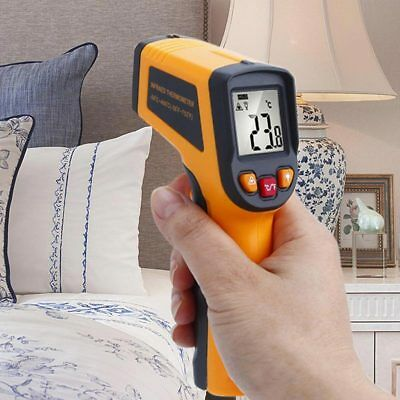 TN400 Temperature Gun Non-contact Infrared IR Laser Digital LCD Thermometer