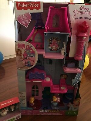 Fisher Price Little People Disney Magic Wand Palace With Belle And Eric