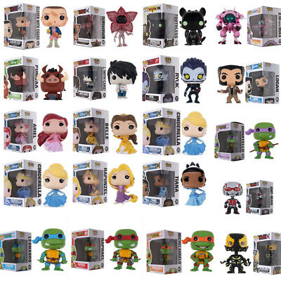 Funko POP Stranger Things/X-Man/Beauty And The Beast Mermaid/Ant Man/Overwatch