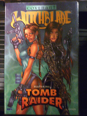 Witchblade featuring Tomb Raider: Covenant - 2000 - 1st Edition / Brand New