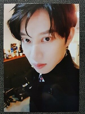 SUPER JUNIOR HEECHUL Official Letter Card PHOTOCARD PLAY 8th Album Black Suit 희철