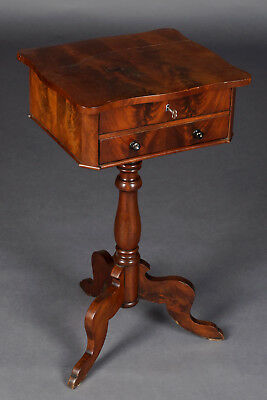 Antique Sewing Table Louis Philippe Around 1860
