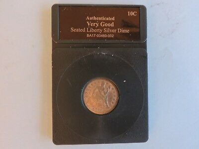 1857 10C Liberty Seated Silver Dime