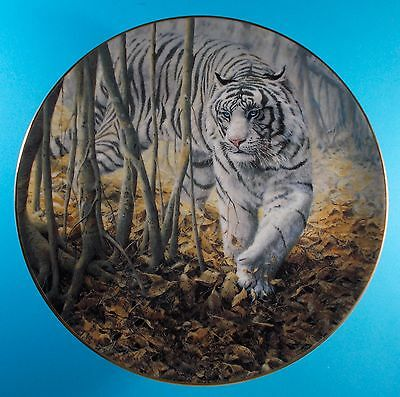 Softly Softly Tiger Collector Plate By John Seerey- Lester Bradford Exchange