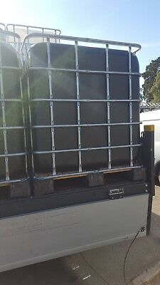 Black IBC - 1000 Litre - Used.   Easily Cleanable - Delivery Available
