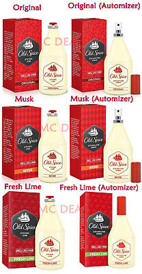 OLD SPICE After Shave Lotion (Original, Musk, Fresh Lime) 50ml / 100ml / 150ml