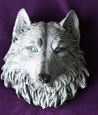Game of Thrones Direwolf bust figure GOT Dire Wolf Ghost White  Collectors