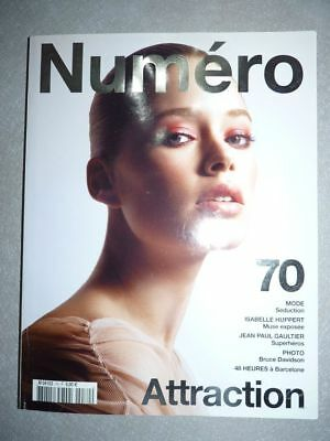 Magazine mode fashion NUMERO french #70 février 2006 Doutzen Kroes