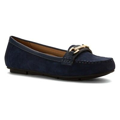 (9.5 B(M) US, Navy) - Vionic with Orthaheel Technology Women's Kenya Loafer