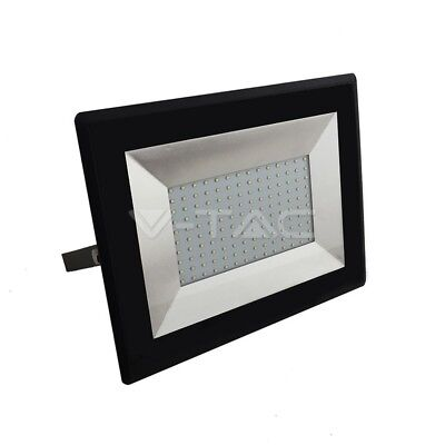 V-Tac 100 Watt SMD LED Floodlight SlimCast Daylight 6400k Energy Saving 100w LED