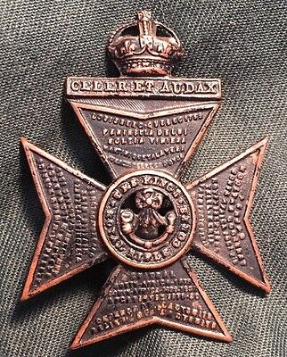 The KING'S ROYAL RIFLE CORPS WWI / WWII British hat cap badge WW1 WW2