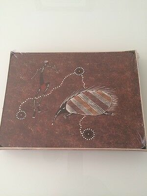 Dreamtime Kullilla Art Cork Placemats New and Sealed 6 Aboriginal Stories
