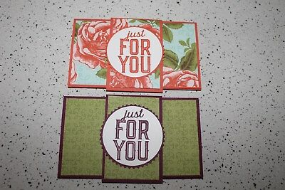 handmade gift card holders - set of 2