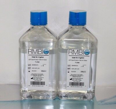 2P - Rmbio Water For Irrigation Usp Specification Sterile Water 1L