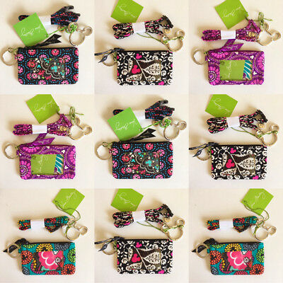 Vera Bradley Mickey disney theme park id case and lanyard set NWT (Multi  Color)