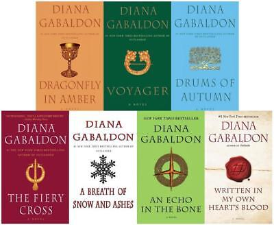 OUTLANDER Series by Diana Gabaldon MASS MARKET PAPERBACK Collection of Books 2-8