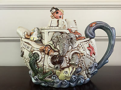 Cardew Design Teapot Collection Large Harmony Kingdom Ark LE BNIB
