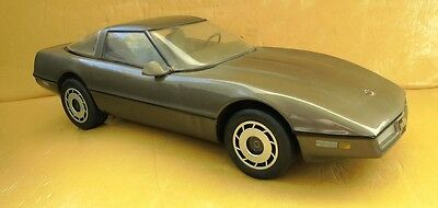 1984 Bronze Chevrolet Corvette Jim Beam Decanter Made In Usa 1988 Limited Issue