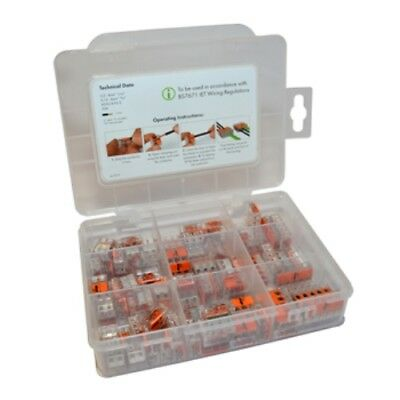 Wago 221 Series 221-412,221-413,221-415 New Style Refill Kit 85 pcs without case