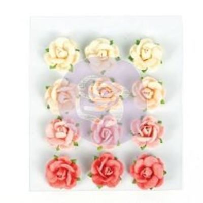 Prima Flowers - Love Clippings - Lovelies - 12 piece set (594503)