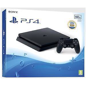 9926160 PS4 Console 500GB E ChassisSlim Black + Dimmi chi Sei! VCH