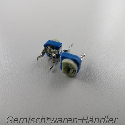 2x 500k ohm Trimmer Potentiometer trimmpoti Rotational Resistance Rotary