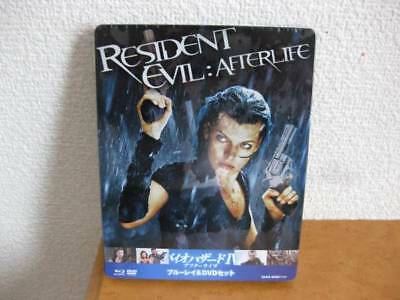 【Amazon.co.jp Limited】Resident Evil IV After Life Steel Book Blu-ray & DVD Set