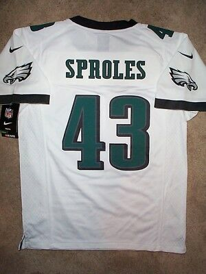 ($75) NIKE Philadelphia Eagles DARREN SPROLES Jersey YOUTH KIDS BOYS (s-small)