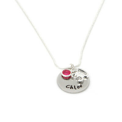 Personalised 30th Birthday Birthstone Necklace - Gift Boxed – Free Delivery 3f37d4cf5278