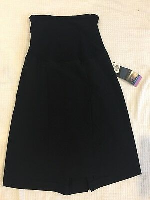 NWT Oh Baby by Motherhood Maternity Skirt Black Sz Medium