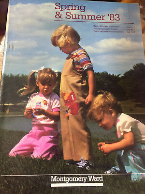 Vintage Sears SPRING AND SUMMER 1983 Catalog / Book Sears Roebuck