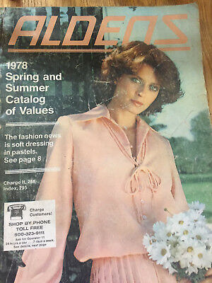 """aldens"" 1978 Spring And Summer ------- Catalog"