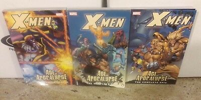 X-Men: Age Of The Apocalypse, The Complete Epic Tpb Trade Book 1, 2, 4 (No 3)