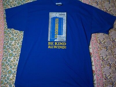 BLOCKBUSTER VIDEO VINTAGE  T- SHIRT SIZE 3XL Tall  Free shipping !!