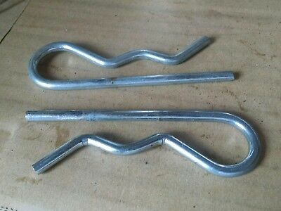Set of 2 hairpin clip 4 inches used
