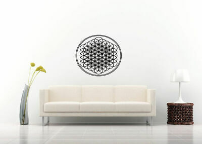 Wall Vinyl Sticker Decal Mural Design Art Mandala Ornament Yoga bo393