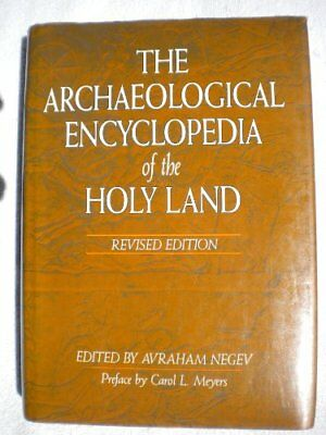 ARCHAEOLOGICAL ENCYCLOPEDIA OF HOLY LAND - Hardcover **Mint Condition**