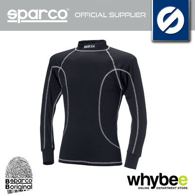 SPARCO KARTING LONG SLEEVE T-SHIRT BASE LAYER FAST DRY FABRIC for KART CADET