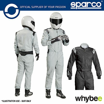 New! 002337 Sparco TRACK KS-1 KS1 Kart Suit Indoor Karting Overalls Sizes XS-XXL