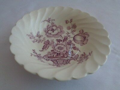 Royal Staffordshire Made In England Clarice Cliff Charlotte Purple Berry Bowl