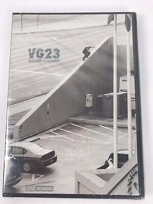 """""""VG23 Delegation of Authority"""" Inline Skate DVD Brand New Rare Retro Old school"""
