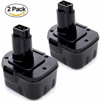 2X 12v 3.0Ah replace for Dewalt Battery Ni-Mh DW9072 DC9096 Cordless Power Tools