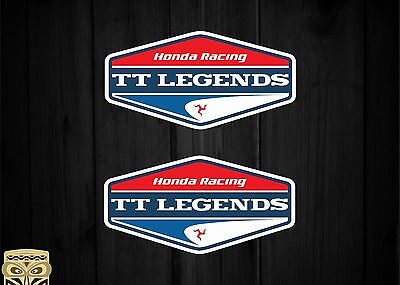 Adesivo Decal Sticker Autoadesivo Adesivi Aufkleber Honda Racing Tt Legends