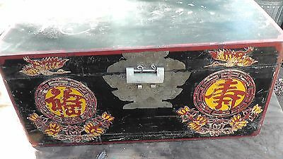 reproduction ? Ancient antique asian box handmade ? wood Japan China Japanese ?