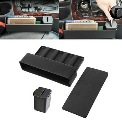 Car Seat Gap Catcher Storage Box Organizer Coin Console Side Pocket NEW